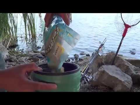 carpfishing } pesca de carpas ,     en fox river