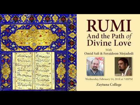 Guest Lecture Rumi and the Path of Divine Love