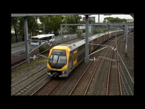 Sydney Trains: Strathfield - Newtown on a M Set