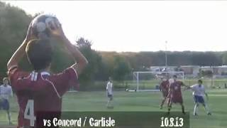 Acton Boxborough Jr Varsity Boys Soccer vs Concord Carlisle 10/8/13
