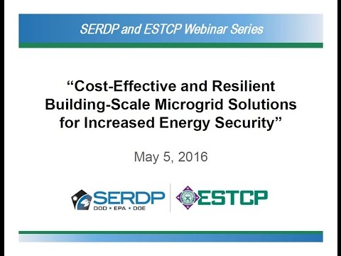 Webinar #32: Microgrid Solutions for Increased Energy Security