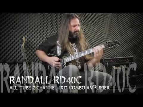 Randall Amplifiers Diavlo RD40C & Washburn Parallaxe - Metal