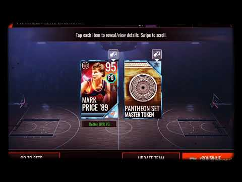 OPENING A 95+ PLATINUM EXCHANGE PACK IN NBA LIVE 18 MOBILE! #3
