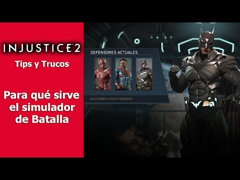 Injustice 2 | Tips y Trucos | Para qué sirve el simulador de batalla
