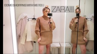 COME SHOPPING TO ZARA WITH ME/MY FIRST EVER VLOG!!!!!!!
