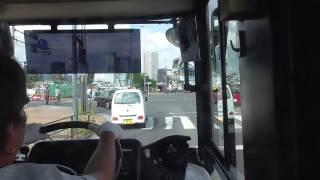 都営バス(コミケ臨時便)「B-H170」に乗車!(コミックマーケットC88)