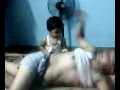 child obey his father only 2 yrs 4month from kuldeep sharma