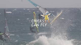 Chicks can Fly - Justyna Sniady  - Naish Windsurfing