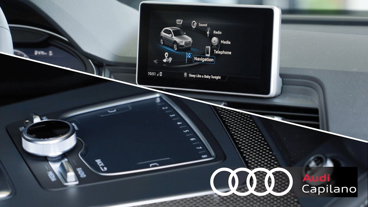 2018 Audi Q5 Audi Mmi Navigation Plus Youtube