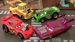 Cars 2 Hot Rod 5-pack Deluxe Set Chick Hicks Ramone Fillmore Mater Disney Pixar car toys