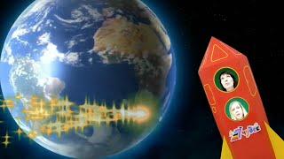 Кто в космосе живёт? Познавательное видео для дошкольников.