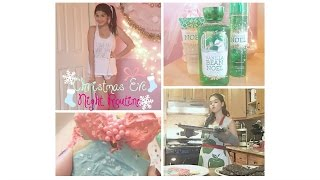 Christmas Eve Night Routine & GIVEAWAY WINNER(S)
