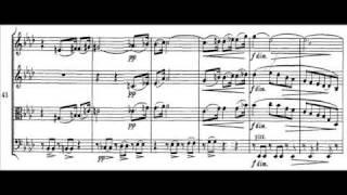 Brahms - Cuarteto para cuerdas op. 51, nº 1. II Romanze. Poco adagio