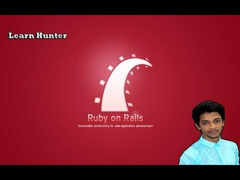Ruby on rails bangla tutorial 8(model & migration)