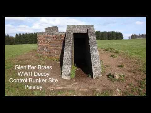 Gleniffer Braes Starfish Decoy Site Control Bunker, Paisley