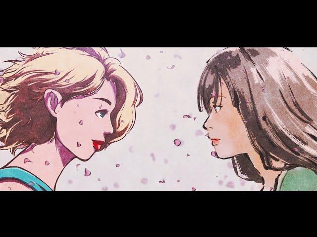 和楽器バンド *WAGAKKIBAND / Sakura Rising with Amy Lee of EVANESCENCE (Animated Lyric Video)