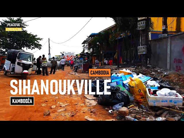 Lecimy do KAMBODŻY. Sihanoukville - miasto, którego nie ma.