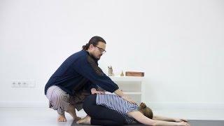 Комплекс по йогатерапии: раскрепощение шейно-грудного отдела позвоночника