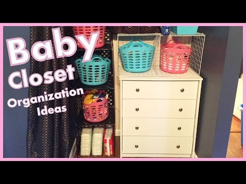 Organizing Baby Closet   Ideas U0026 Tour