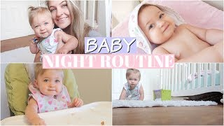 BABY NIGHT TIME ROUTINE | BED TIME | 2018