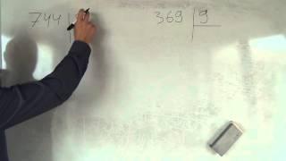 Математика 4 класс. 27 сентября. Деление в столбик 4