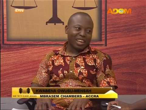 Land Dispute PT.2 - Me Wo Case Anaa on Adom TV (10-2-17)