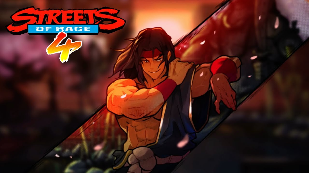 Streets of Rage 4 - Beating Info out of Shiva the Dojo Master of Chinatown  (Xbox One Gameplay) - YouTube