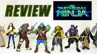 Review coleção das Tartarugas Ninja do filme (2014)