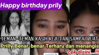 Download lagu Teman Teman Kasih Kejutan Di Hari Ulang Tahun Prilly Latuconsina Benar Benar Terharu Dan Menangis