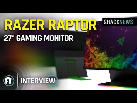 Razer showcases new Raptor 27-inch 144hz gaming monitor