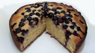 How To Make A Blueberry & Yoghurt Cake