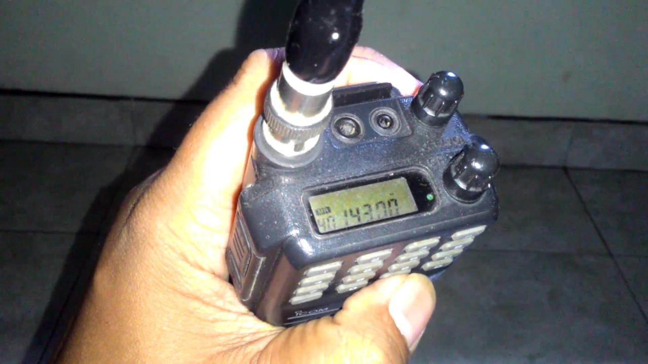 Download Review Ulasan singkat Icom V68 VHF Indonesia