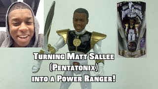 Turning Matt Sallee (Pentatonix) into a Power Ranger!