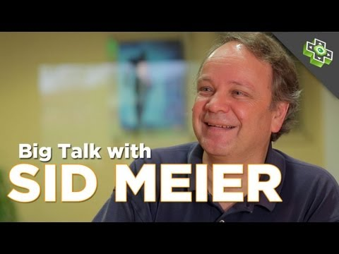 Sid Meier on His Legacy, Game Design, & the Appeal of Turn-Based Strategy: BIG TALK w. Adam Sessler