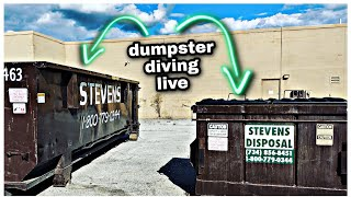 **DUMPSTER DIVING - WOW! THESE ARE EXPENSIVE!
