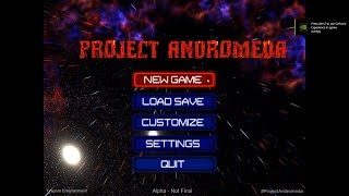 Project Andromeda Indie Game Alpha Gameplay Demo