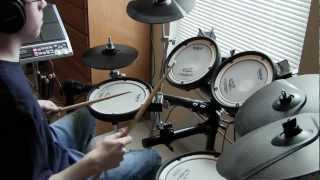 Genesis - Dance on a Volcano - Drum Cover (Tony Parsons)
