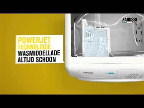 Media Markt - Zanussi Aquafall en powerjet technologie - Product video