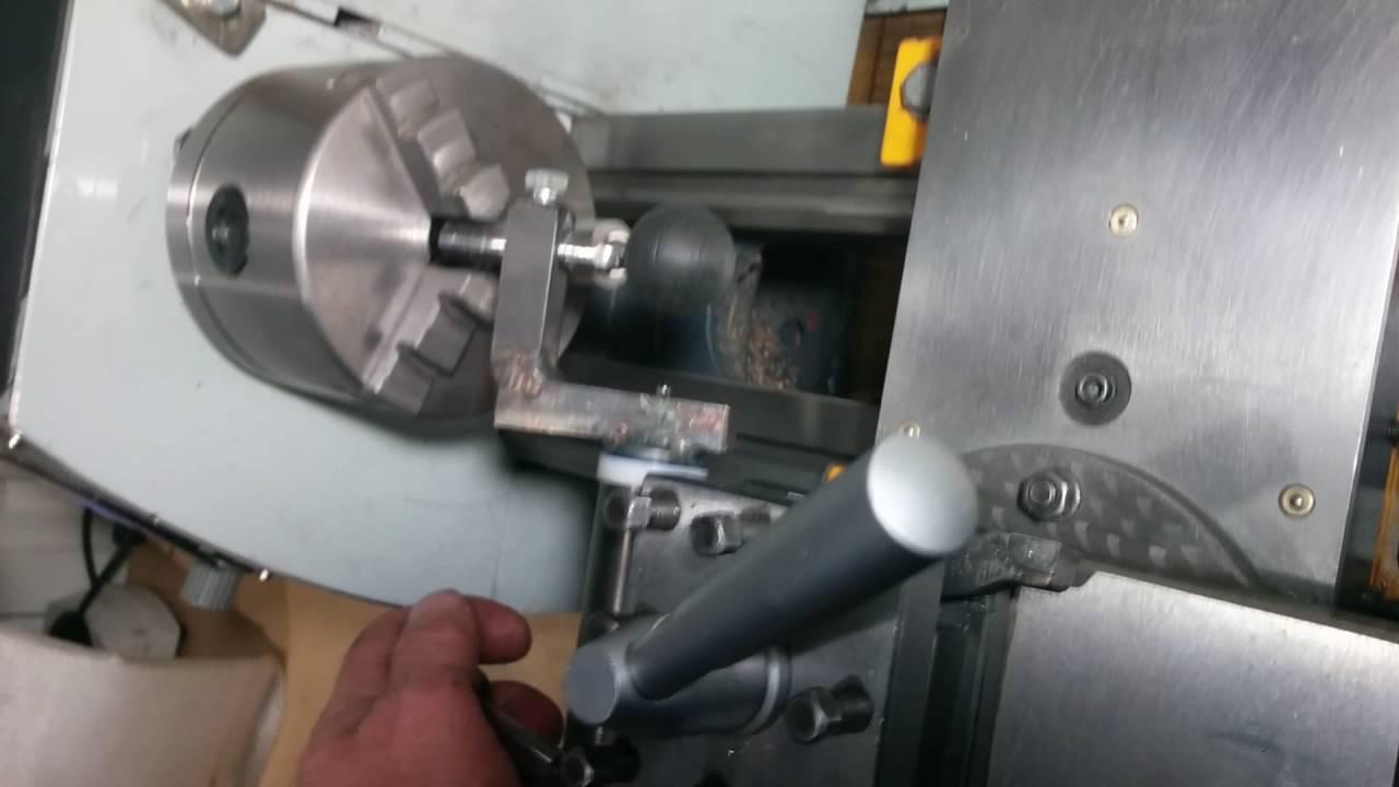 соотношение подач для выточки шара на токарном станке