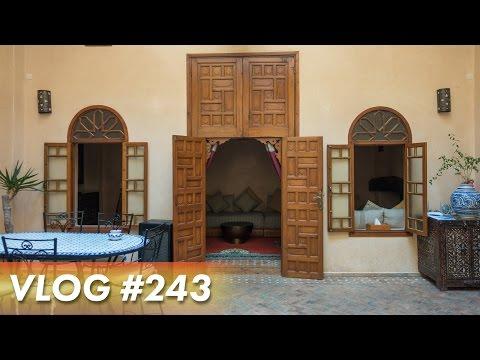 AMAZING RIAD - Morocco Vlogs - Day 2