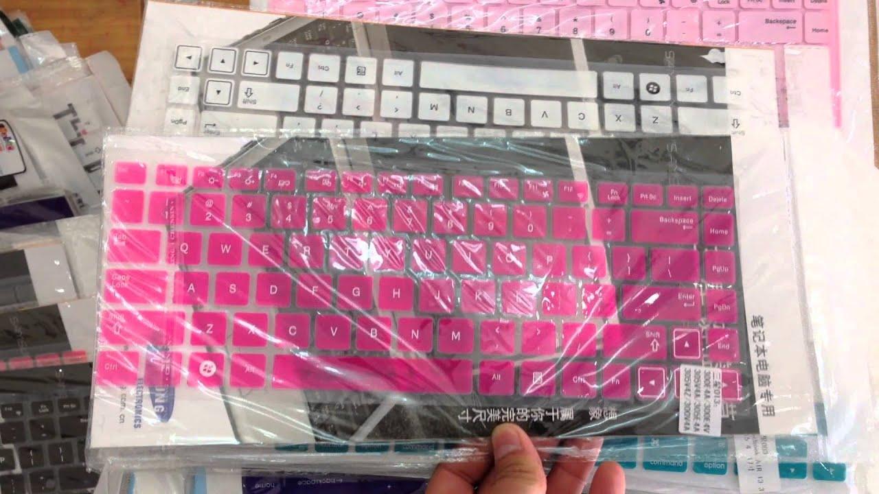 Tấm Lót Silicon chống nước chống bám bụi cho Laptop