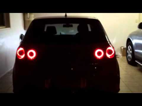 golf v quad ring led tails mod youtube. Black Bedroom Furniture Sets. Home Design Ideas