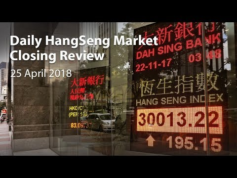 Daily Hangseng Market Closing Review (24 April 2018)