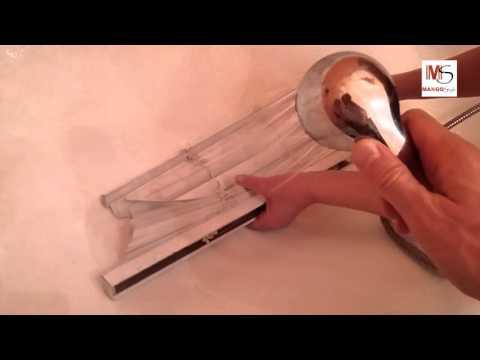 Как помыть горизонтальные жалюзи  How to clean horizontal blinds