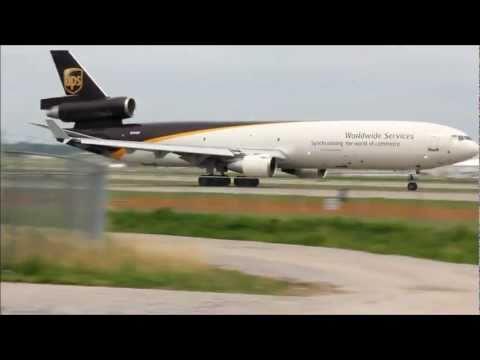 UPS Planes Departing Louisville International Airport HD
