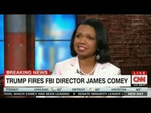 Condoleezza Rice Fmr Sec of State 2005 2009 speaks with Chris Cuomo about Trump firing FBI Director