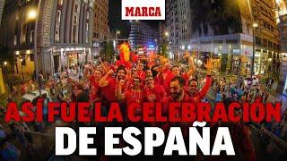 Celebración de España campeona mundial de Baloncesto 2019 en Madrid I DIRECTO MARCA