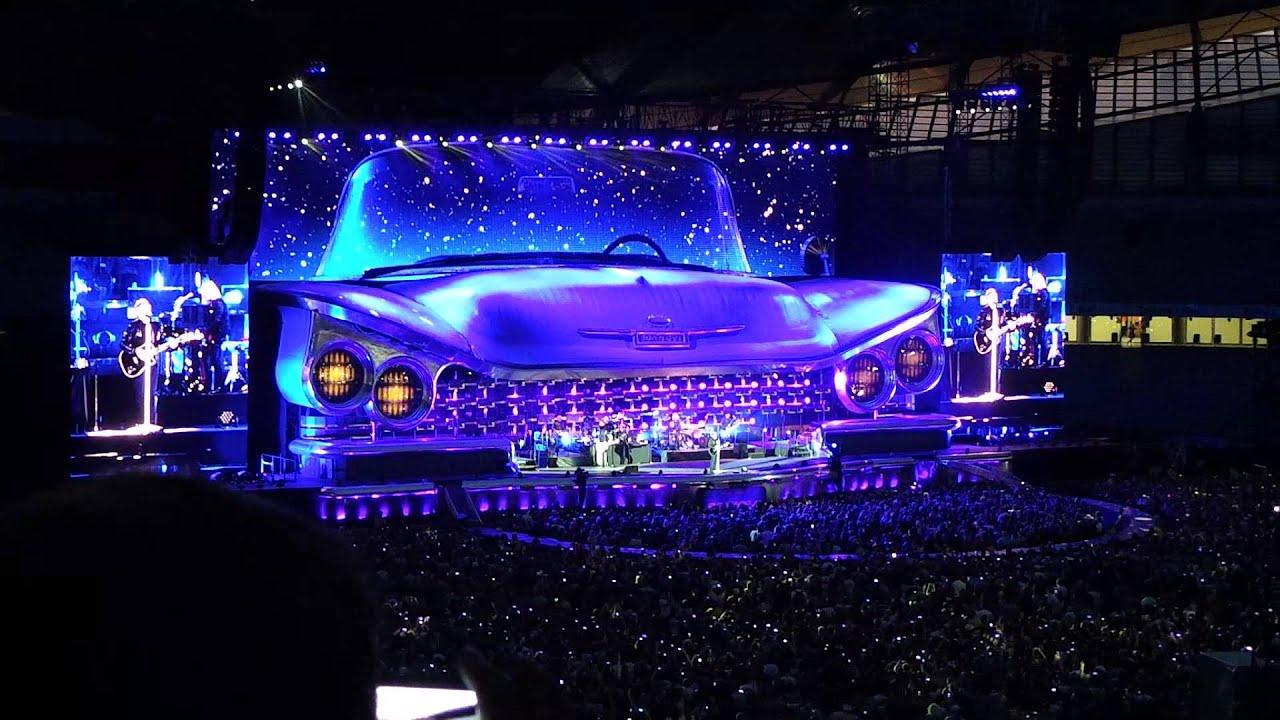 Bon Jovi At Etihad Stadium Manchester 2013
