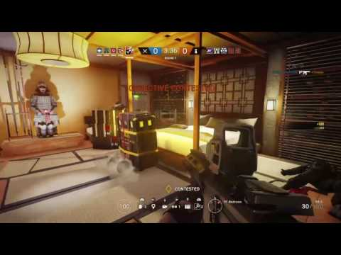 My inner Waffle coming out... RAINBOW SIX SIEGE QUICK ACE
