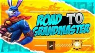 ROAD TO GRANDMASTER WITH GYAN GAMING FAMILY  Garena Free Fire Live